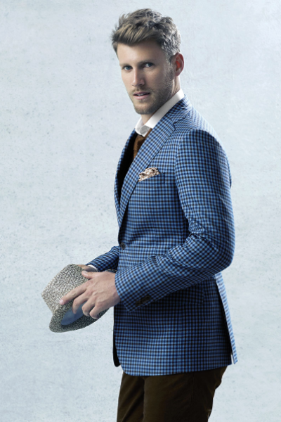 The Bold Blue Sport Coat